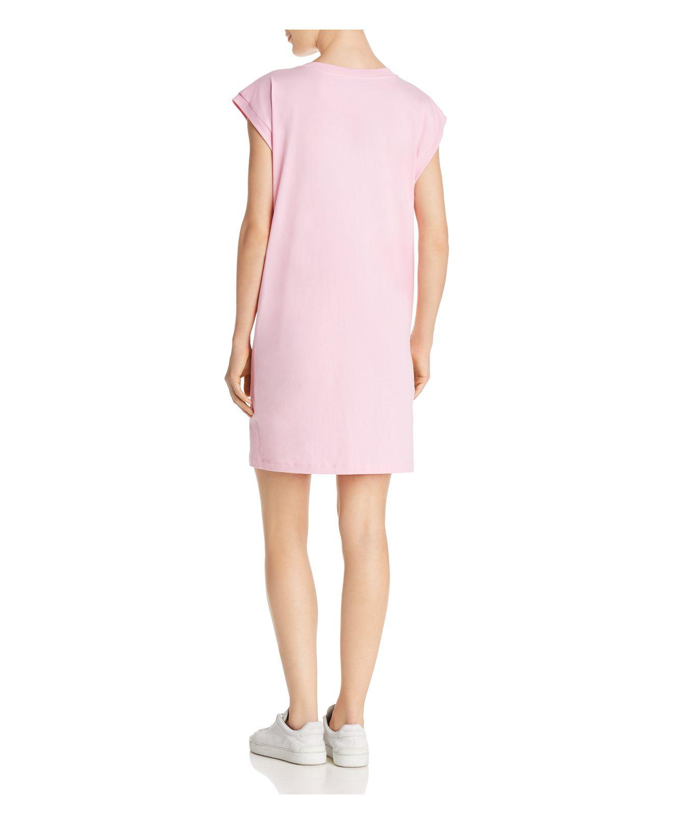 Dress with pierced details on the neckline MOSCHINO BOUTIQUE I7QYC2T