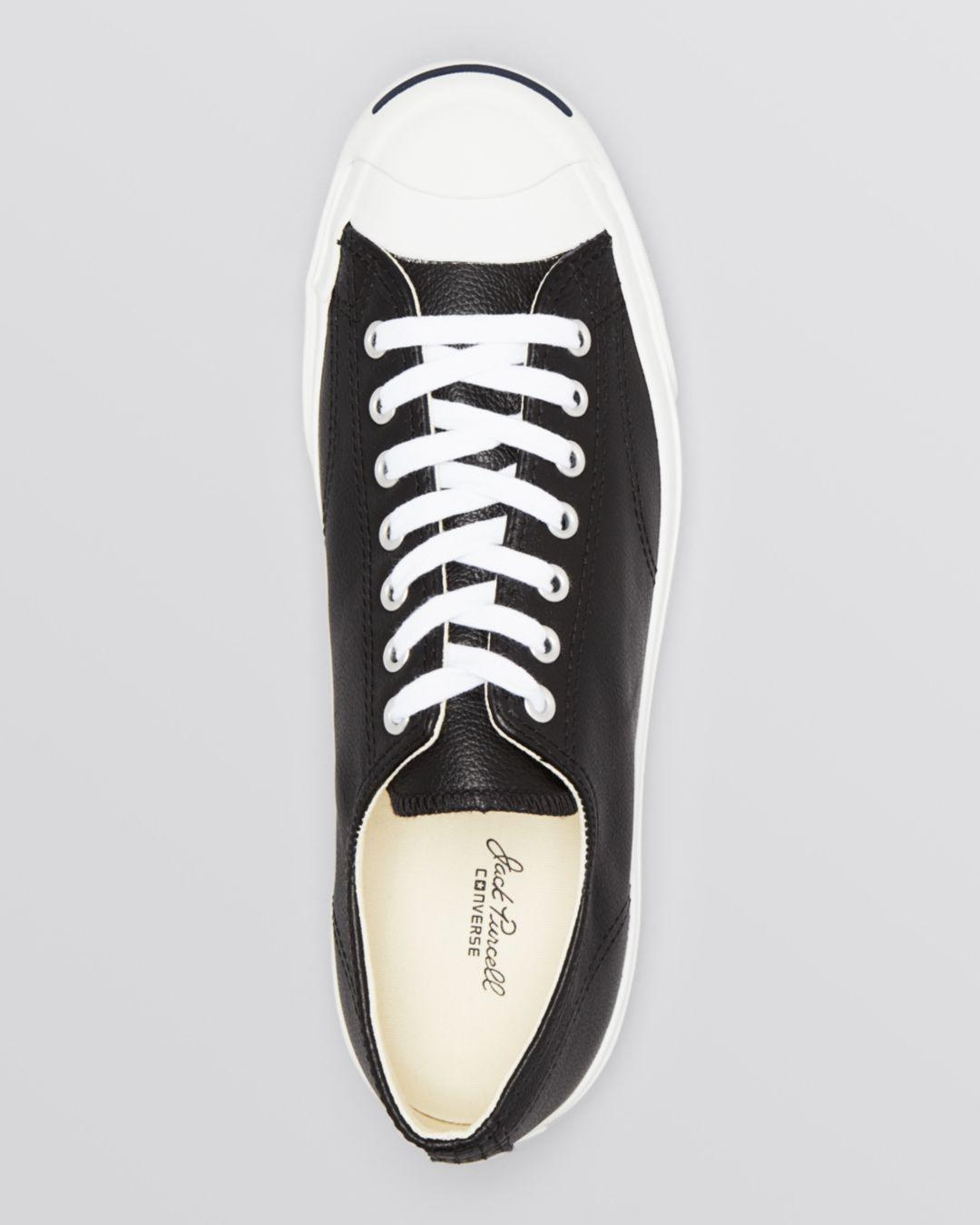 6545d5e08b15 Lyst - Converse  jack Purcell  Sneaker in Black for Men - Save 43%