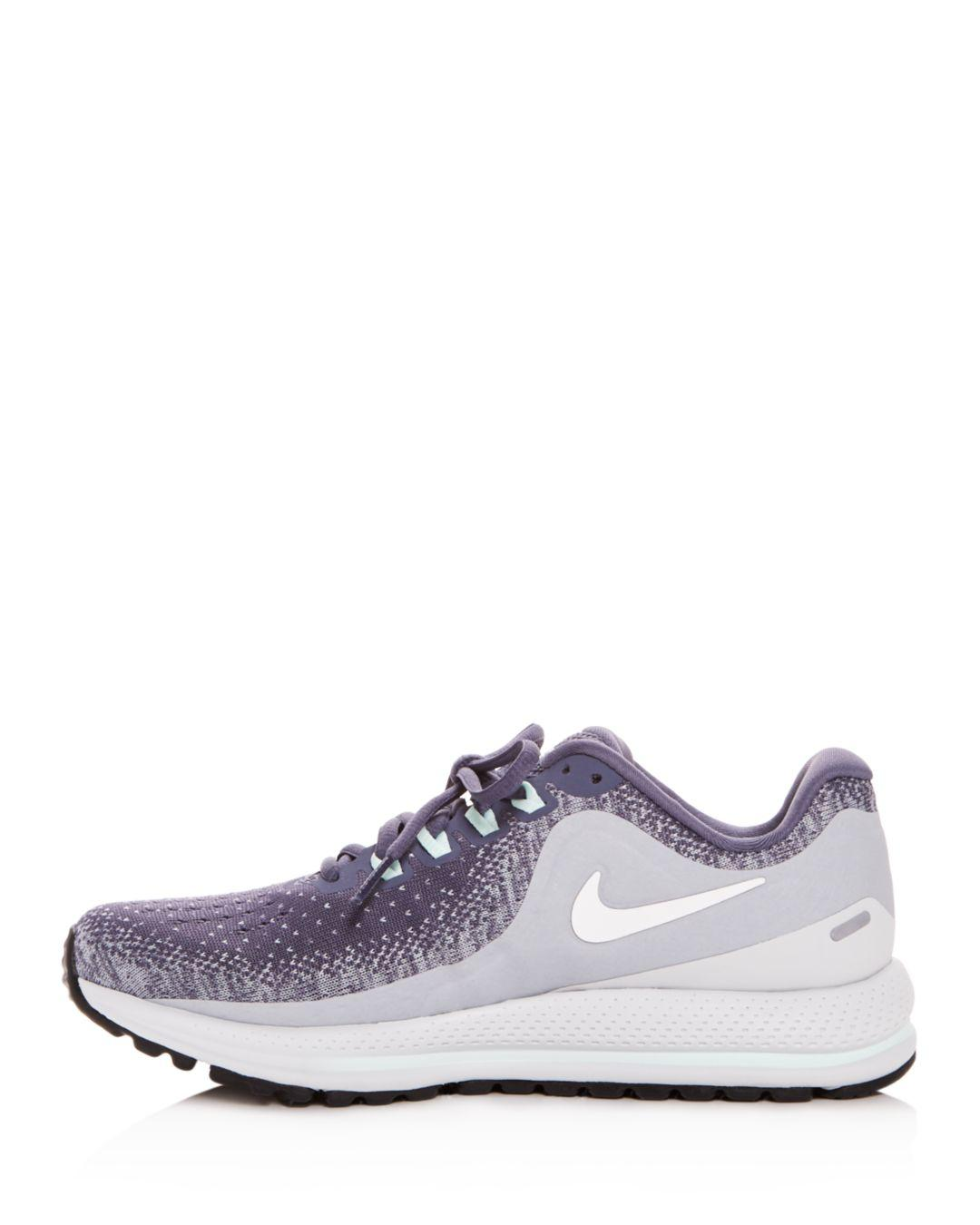 half off ccbca f4b76 Lyst - Nike Women s Air Zoom Vomero Lace Up Sneakers in Purple