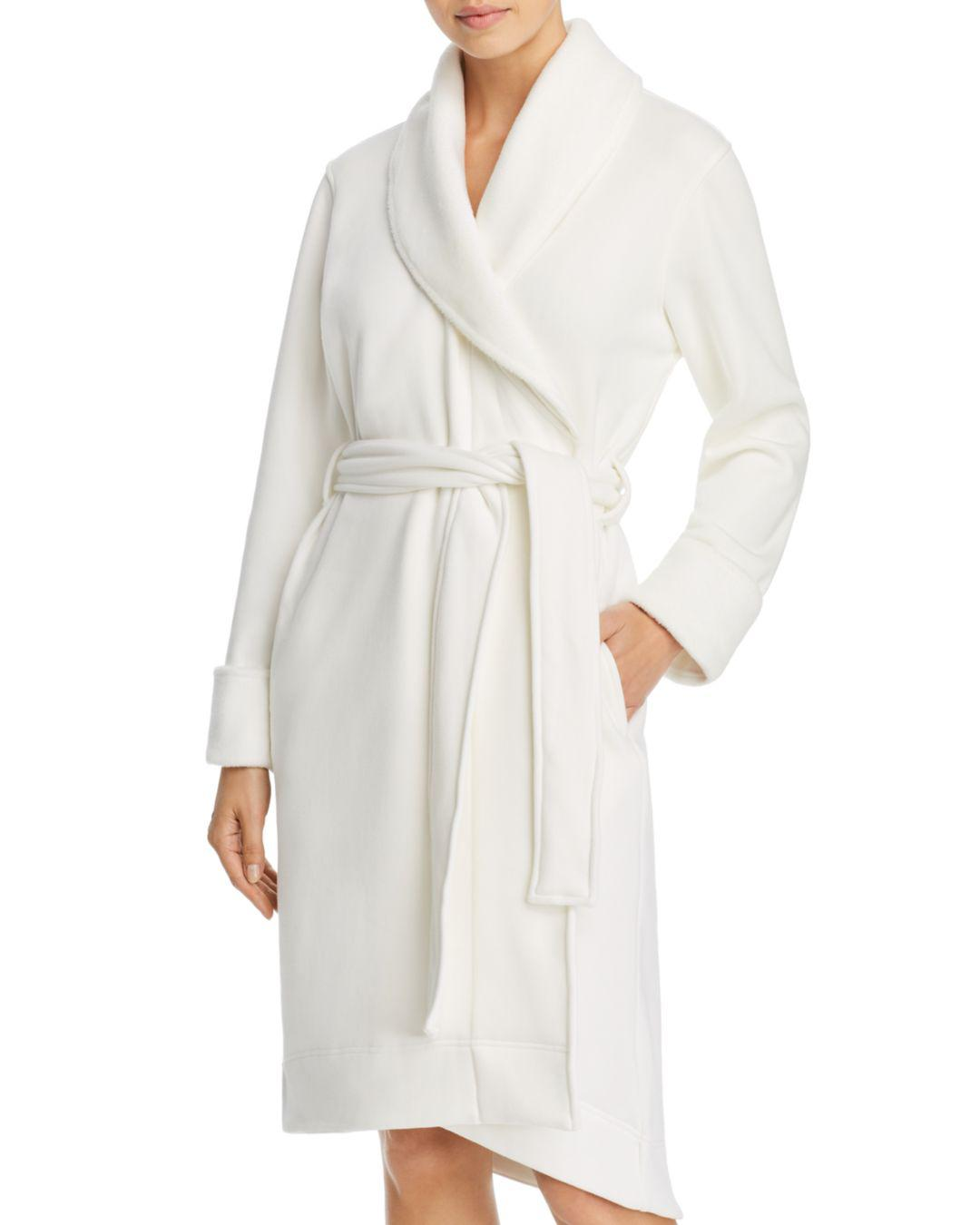 c45bed3492 Lyst - Ugg Duffield Ii Double-knit Fleece Robe in Natural