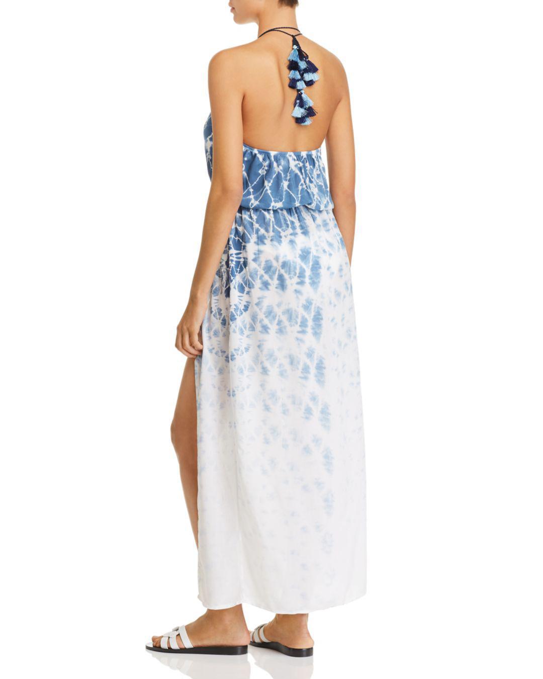 2a27f5f595 Surf Gypsy Tie-dye Maxi Dress Swim Cover-up in Blue - Lyst