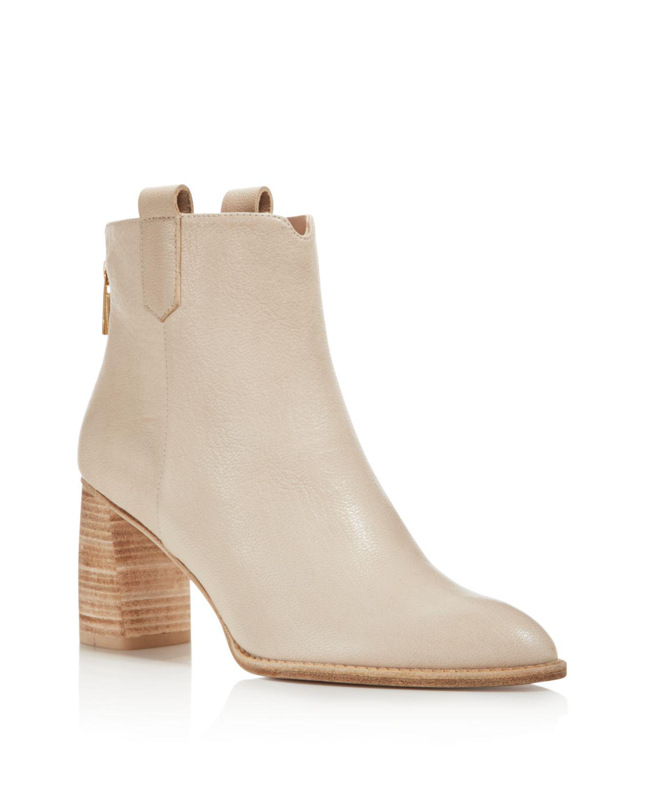 Stuart Weitzman Lofty Leather Booties Z0HbLfZs