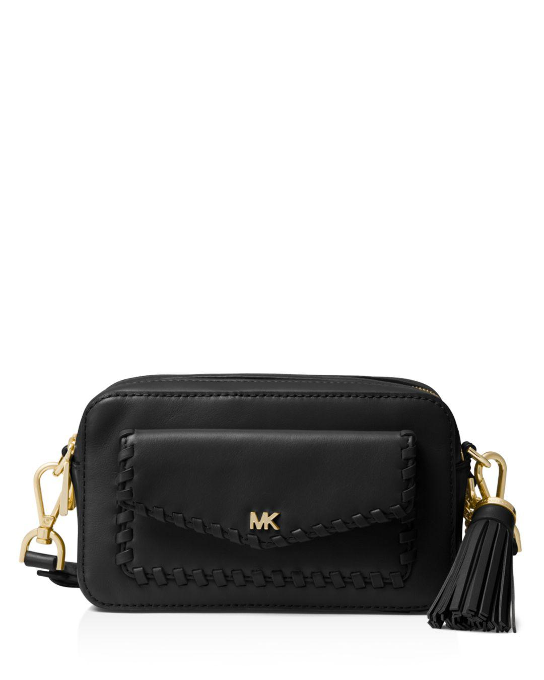 e76dfe042076 MICHAEL Michael Kors Small Leather Pocket Camera Bag in Black - Save ...