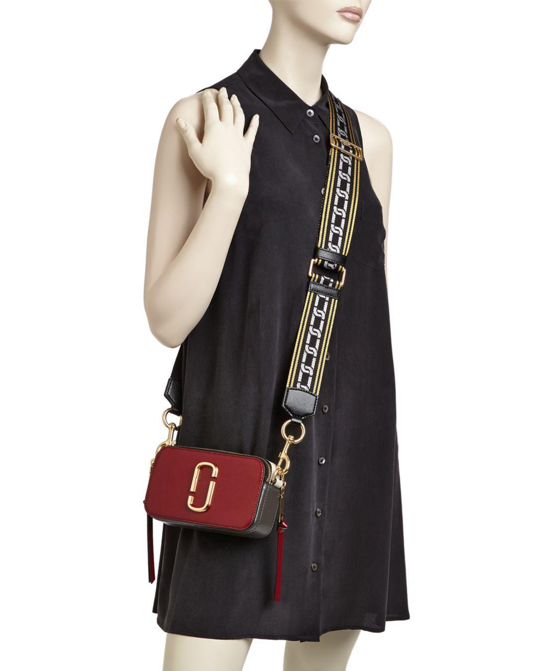 Lyst - Marc Jacobs Snapshot Cross Body Bag - Save 20% d88f0bd9120e5