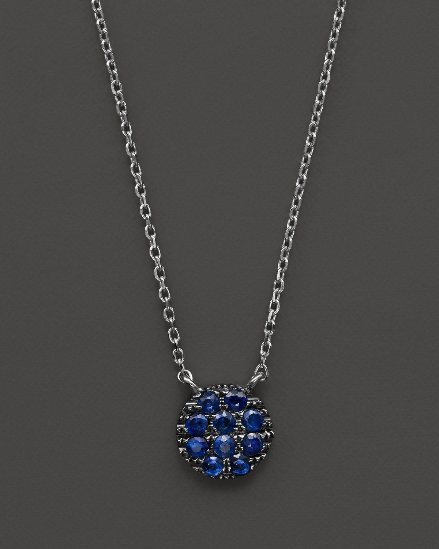 Dana Rebecca 14k White Gold And Blue Sapphire Lauren Joy