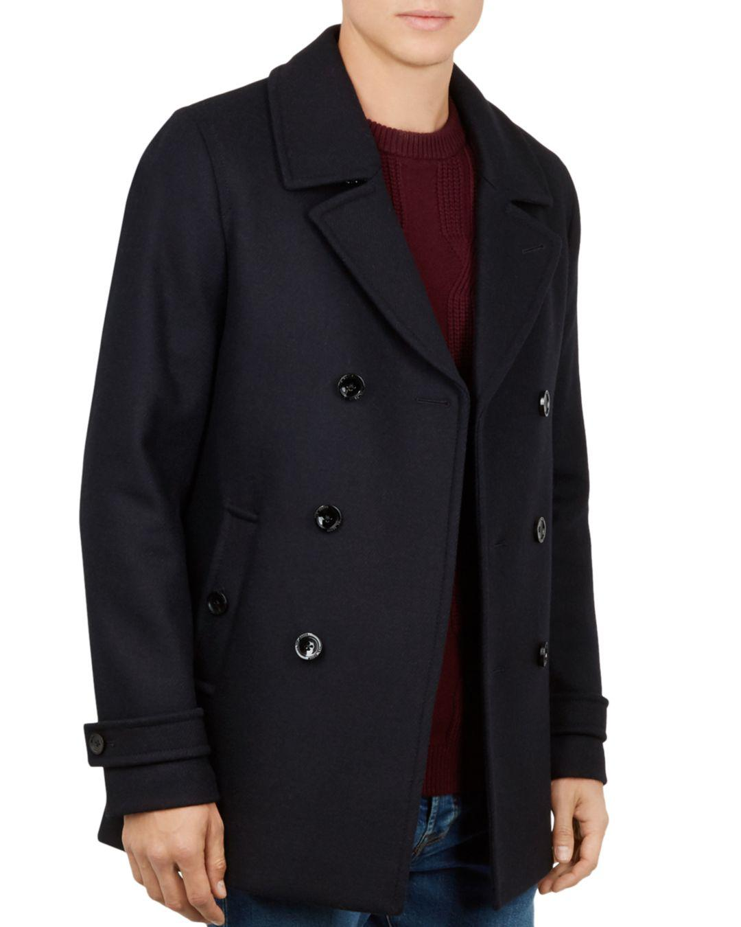 092fcd58ef914f Lyst - Ted Baker Grilld Core Peacoat in Blue for Men