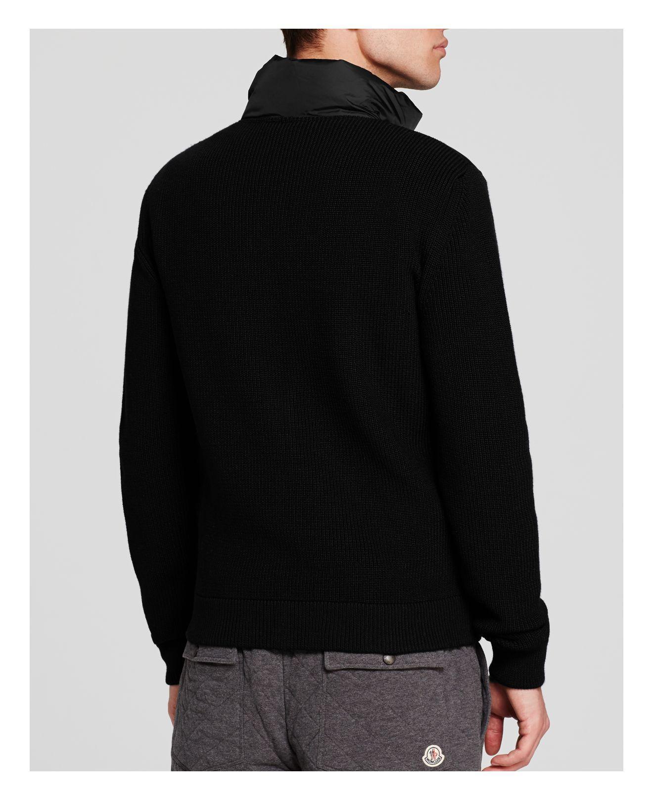 moncler maglione front barrel cardigan