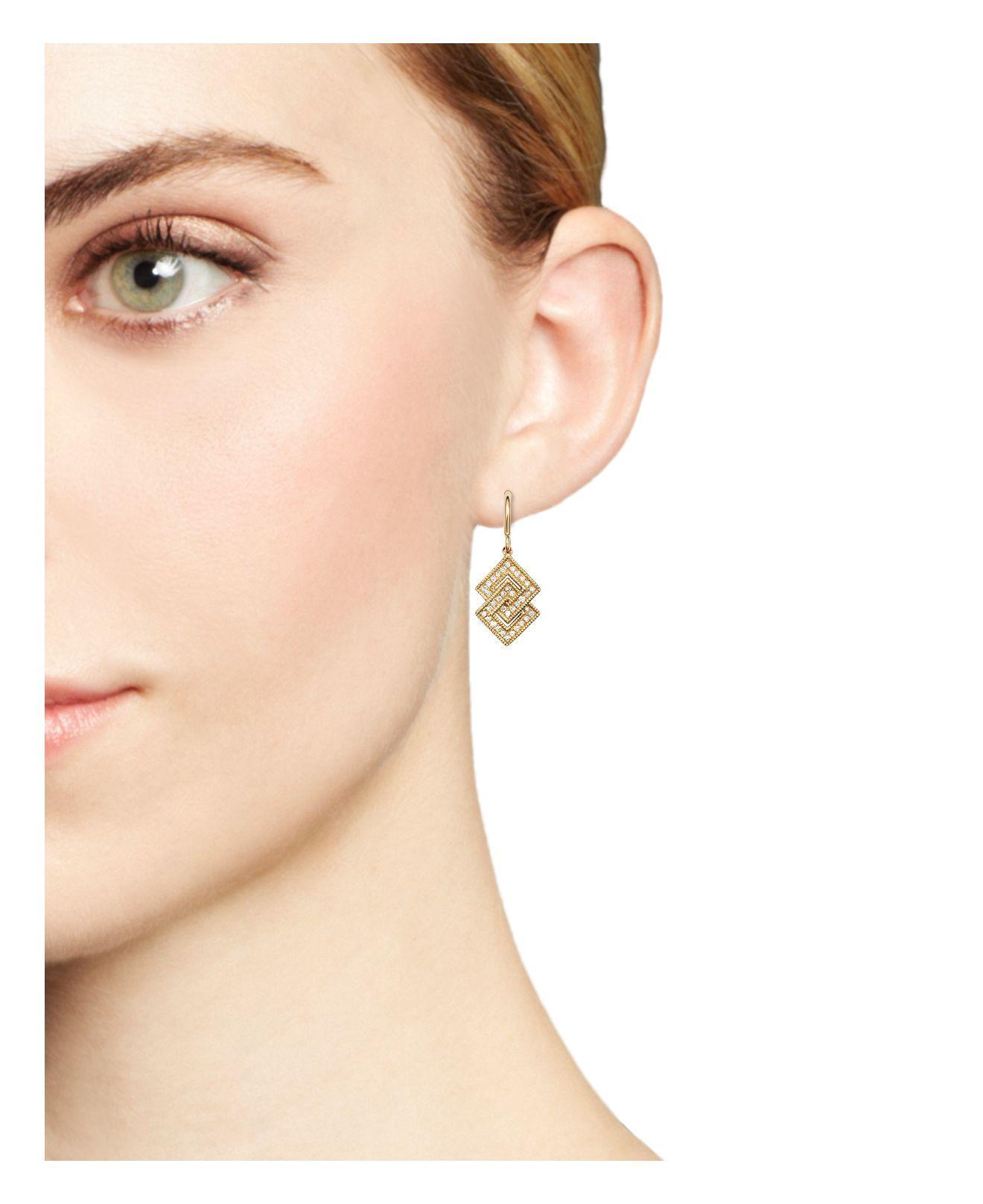 Lyst Dana Rebecca Isabelle Brooke Diamond Earrings In