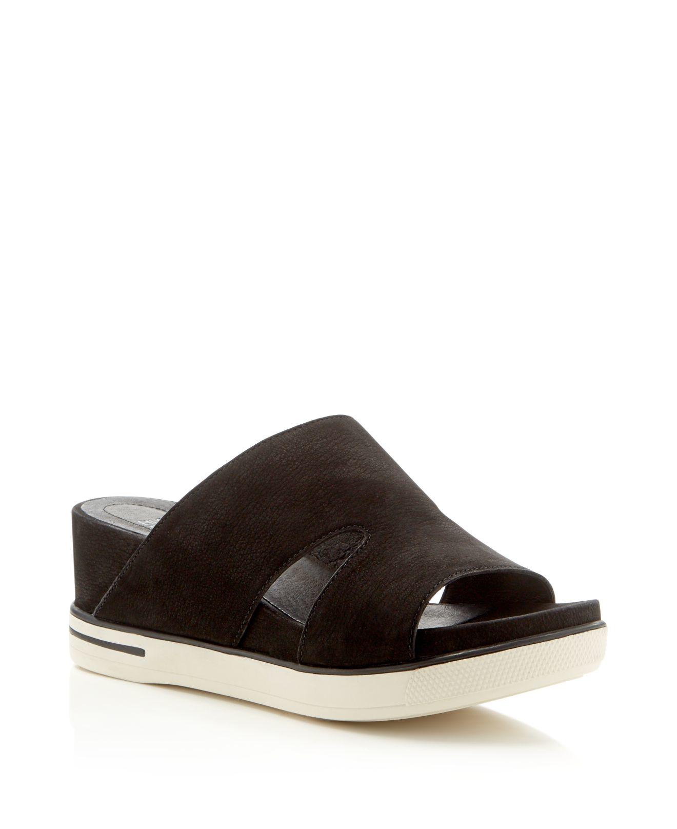 Eileen Fisher Grand Slide Flatform Sandals Bloomingdale