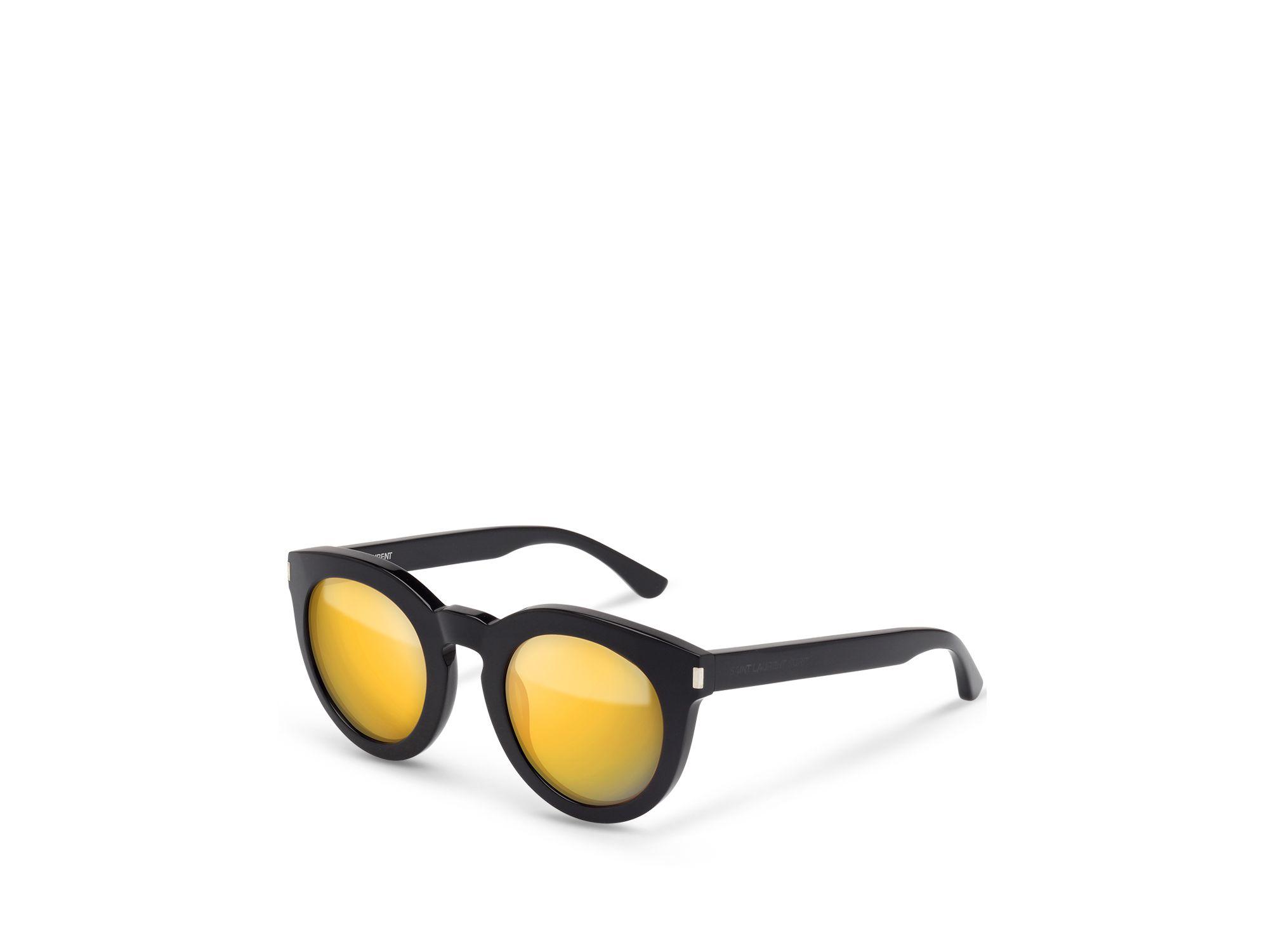 2eb807ee2b7 Saint laurent Surf Mirrored Round Sunglasses