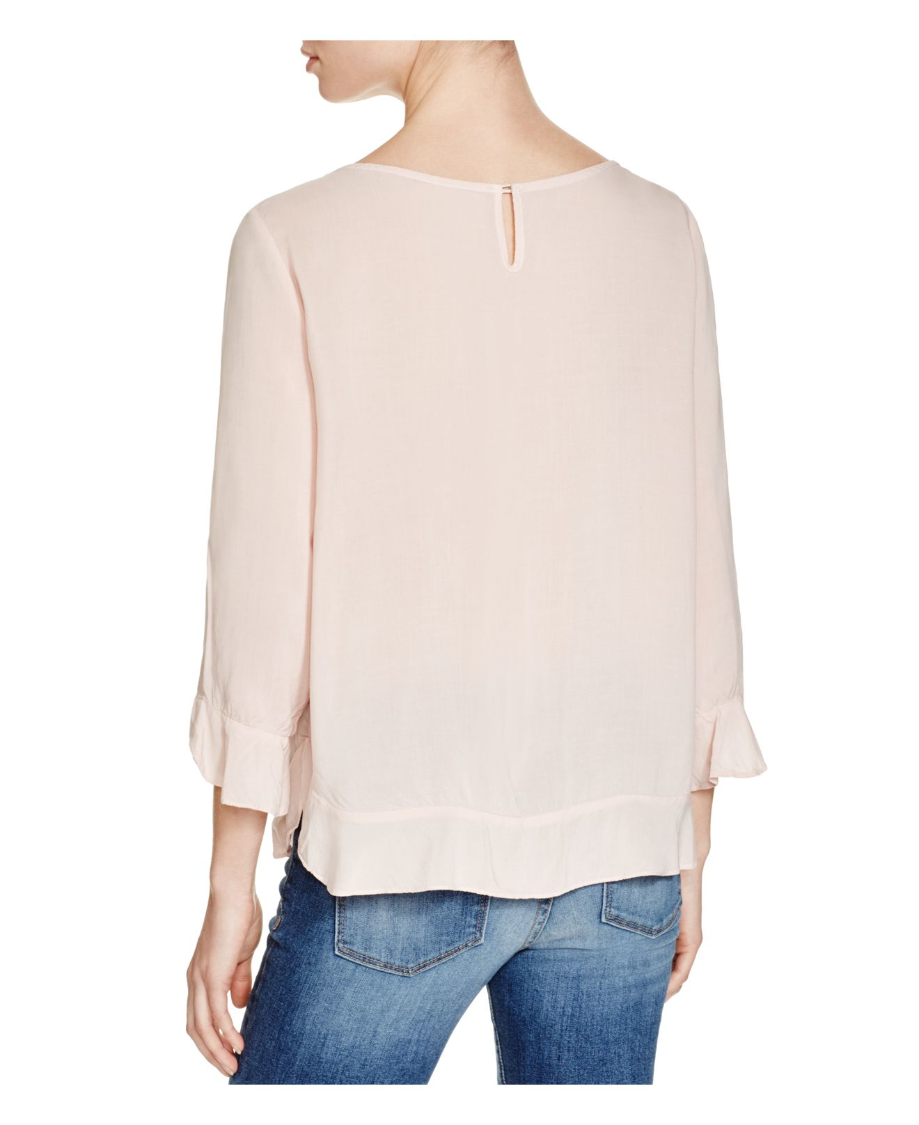 Pink Blouse Marks And Spencer 12