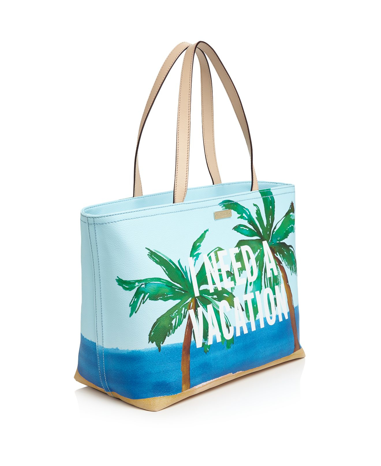 Kate Spade New York I Need A Vacation Francis Tote In