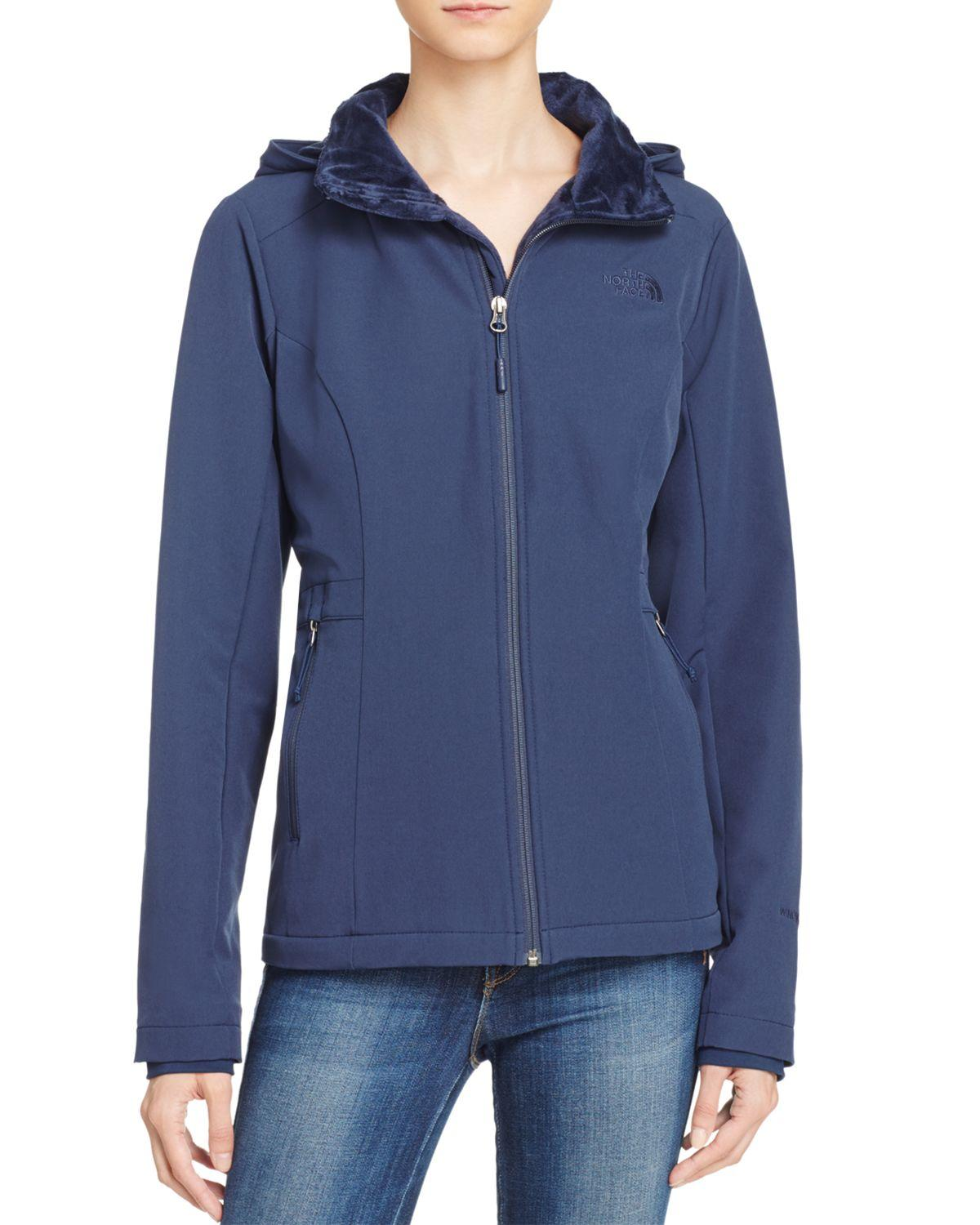 b2d6974949 The North Face Shelbe Raschel Hoodie in Blue - Lyst