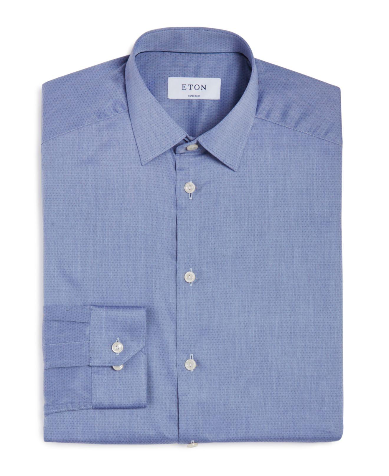 lyst eton of sweden of sweden extra small dot slim fit