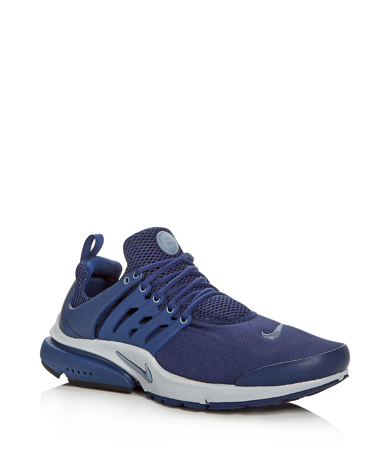eb138b2d81b0 Lyst - Nike Men s Air Presto Essential Lace Up Sneakers in Blue for Men