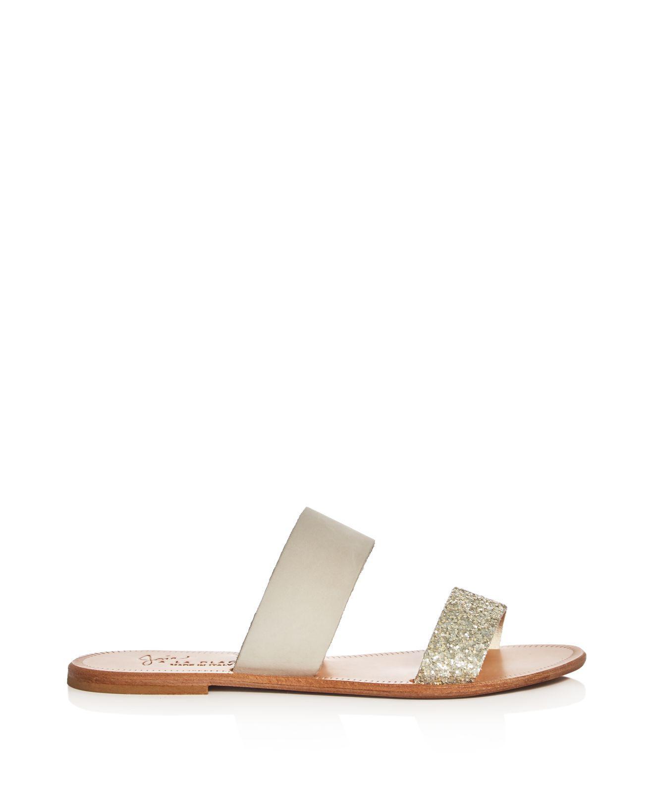 Joie Glitter Slide Sandals 2014 cheap sale wide range of cheap price footaction sale online OCrt2OTUWj