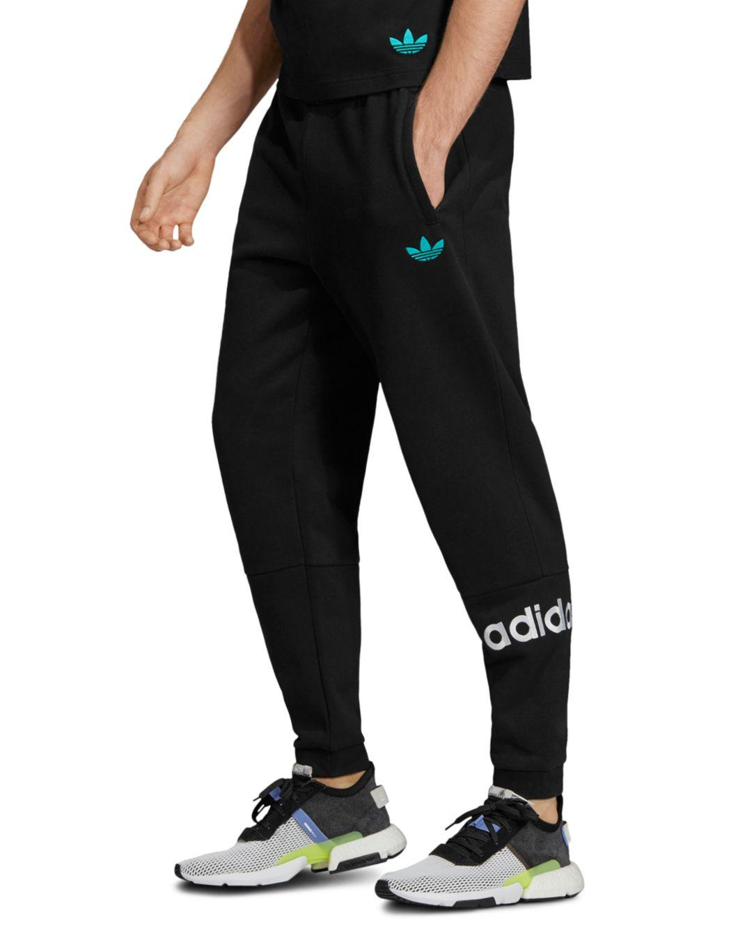 715dd6c44 Lyst - adidas Originals Archive French Terry Sweatpants in Black for Men
