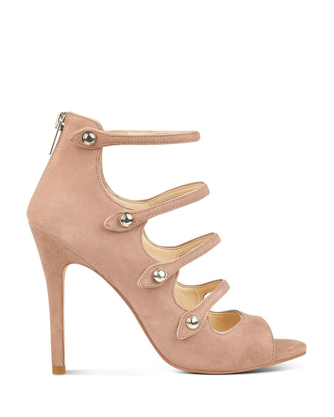 1a1d7bec5d1 Ivanka Trump - Natural Houston Strappy High-heel Sandals - Lyst