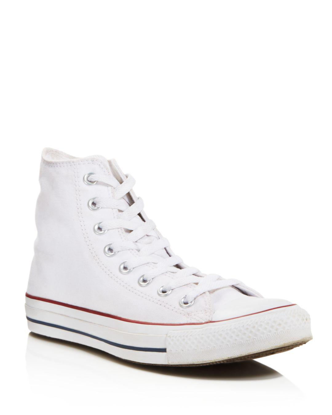 fcf0056f0a0e29 Lyst - Converse All Star Hi Top Women s Trainer White in White ...