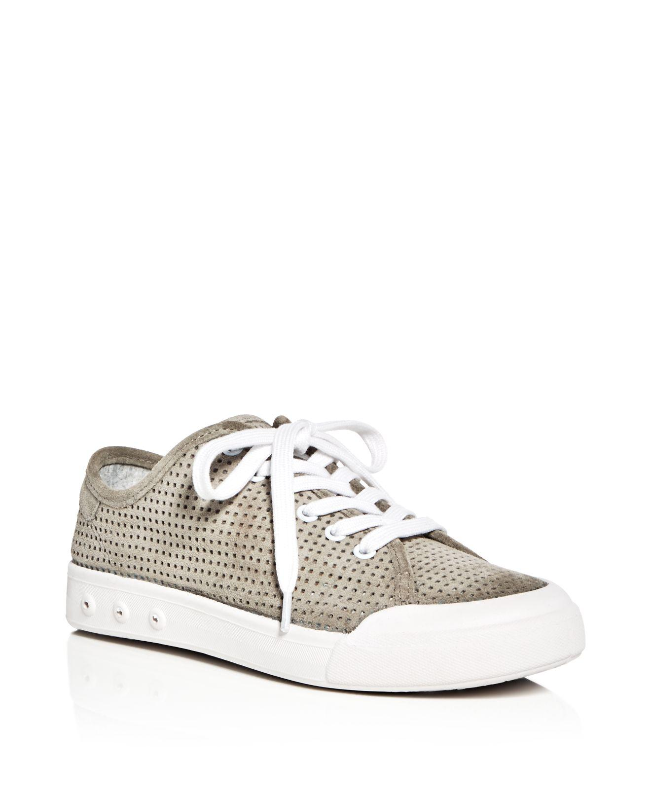 RAG&BONE Women's Standard Issue Leather Low Top Lace Up Sneakers
