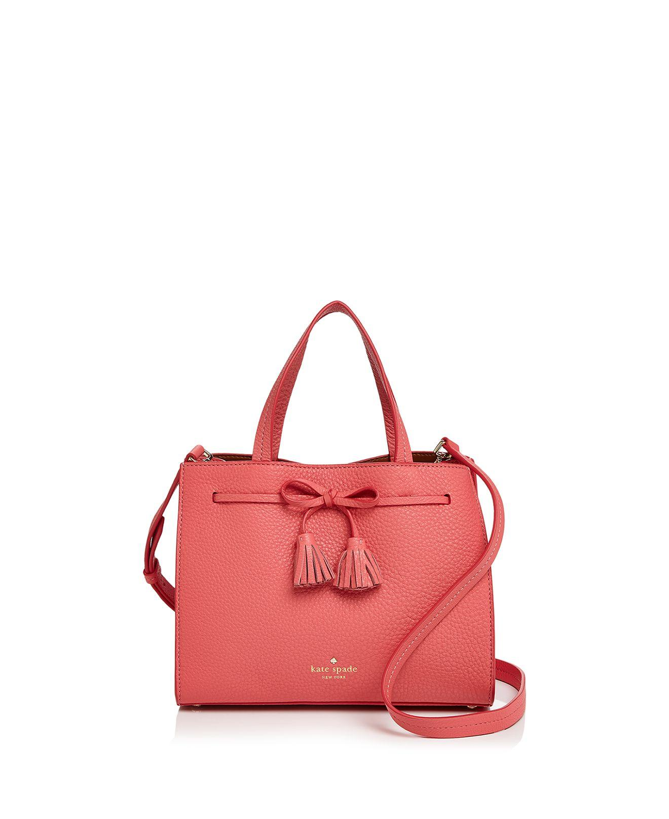 d72037cc732f Kate Spade Hayes Street Isobel Small Leather Satchel - Lyst