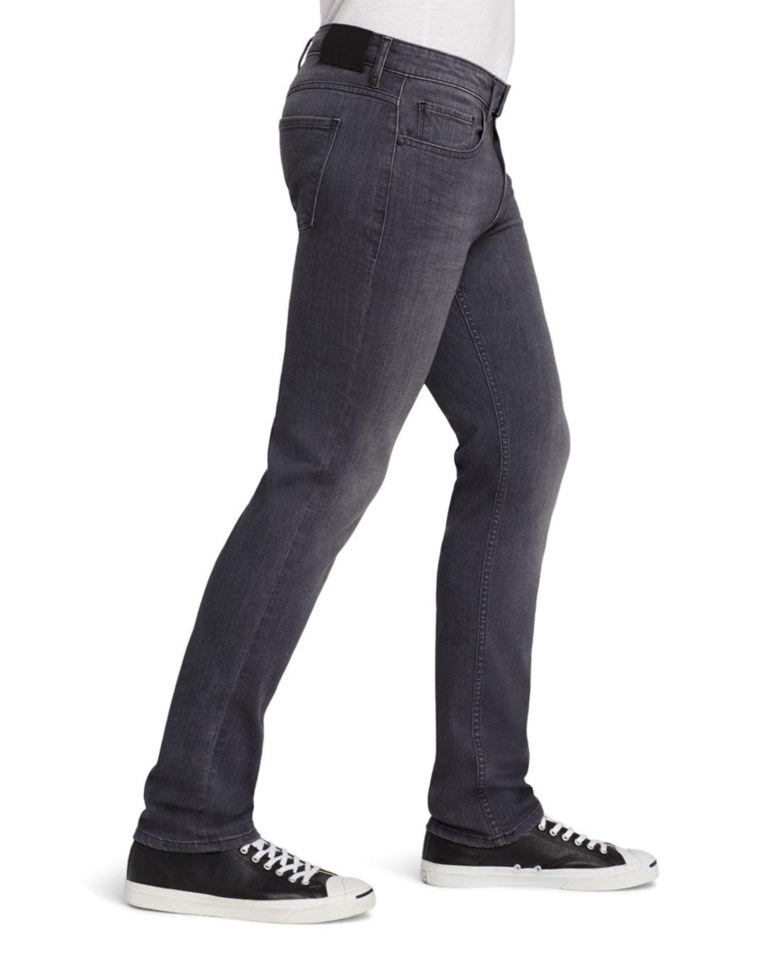1ca70ada19e Lyst - PAIGE Transcend Federal Slim Fit Jeans In Walter Grey in Gray for Men