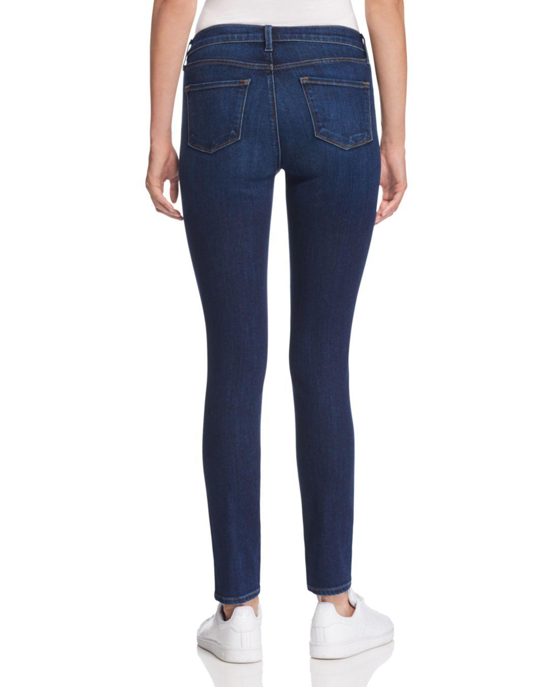 8ff8fe6849ce8 J Brand Mama J Skinny Maternity Jeans In Fleeting in Blue - Lyst