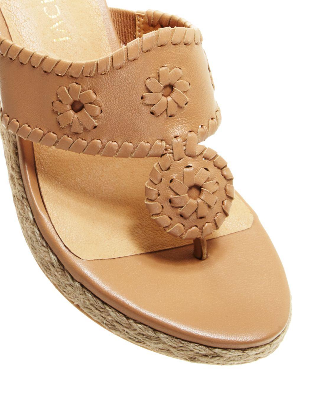 7950d9a7d Jack Rogers - Multicolor Women s Jacks Espadrille Wedge Sandals - Lyst.  View fullscreen