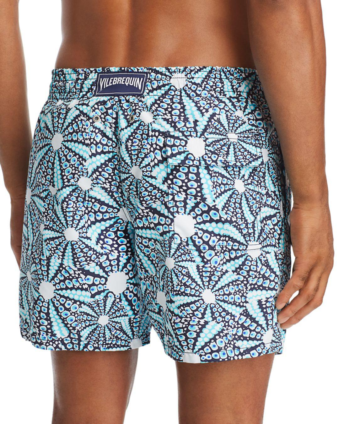 81ce46d2fe Vilebrequin Moorea Oursinade Printed Swim Shorts in Blue for Men - Lyst