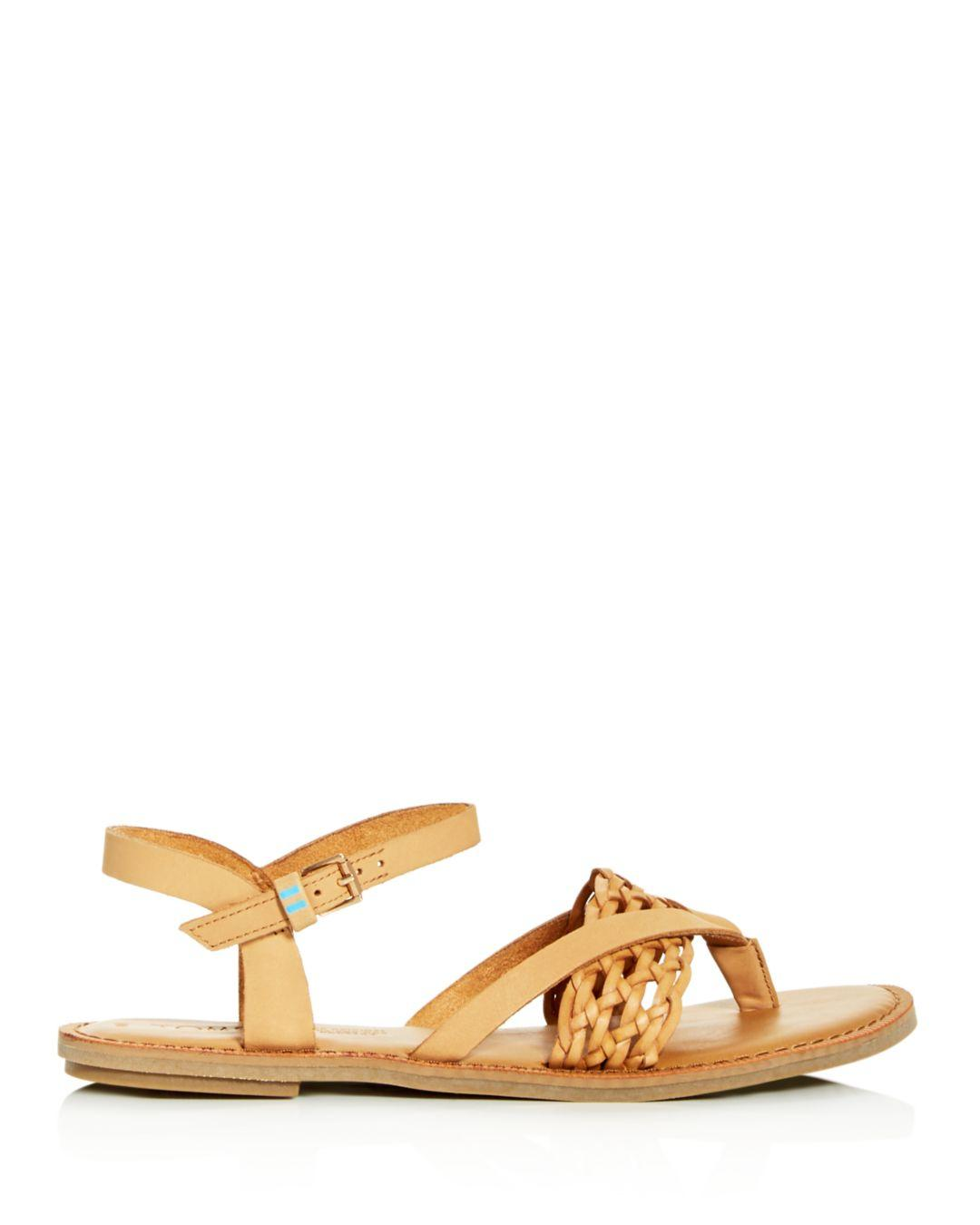 df675e6cc95 TOMS Women s Lexie Thong Sandals in Brown - Lyst