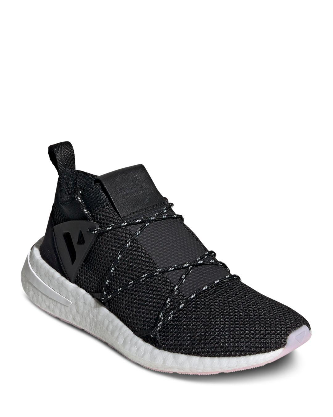 quality design ea4f7 4ad3a adidas. Black Womens Arkyn Knit Lace Up Sneakers