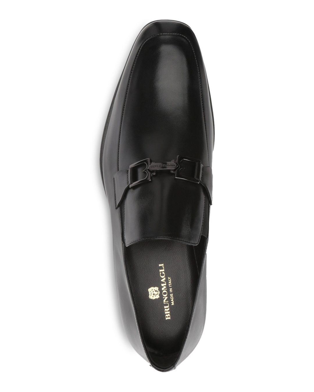248b8c30a3c Lyst - Bruno Magli Men s Roberto Loafers in Black for Men