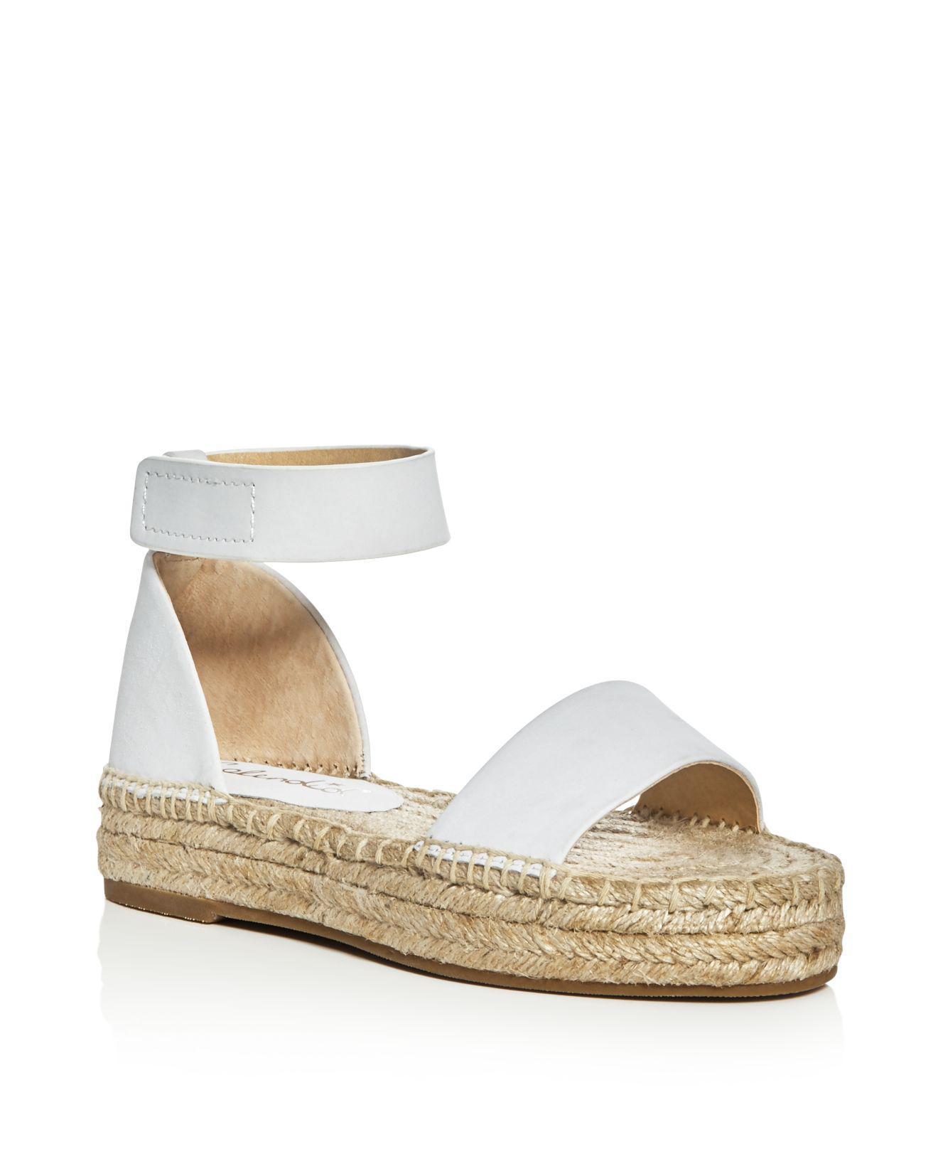2271502d8da Lyst - Splendid Jensen Ankle Strap Espadrille Sandals in White