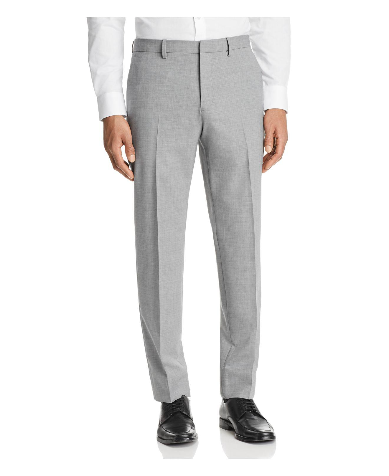 Mens Mayer Worsted Wool Trousers Theory nsbVAD