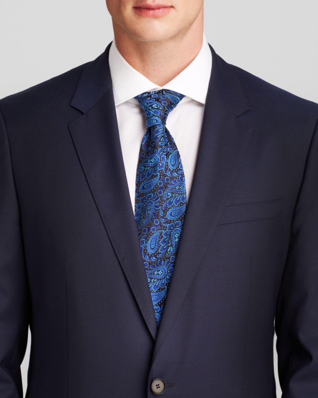 a54aa0bb Lyst - BOSS Huge/genius Slim Fit Wool Suit in Blue for Men