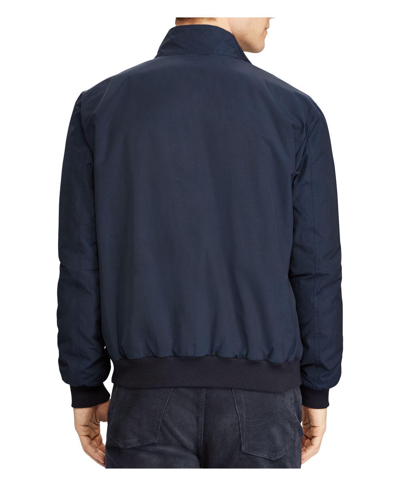 Lyst - Polo ralph lauren Packable Windbreaker Jacket in Blue for Men