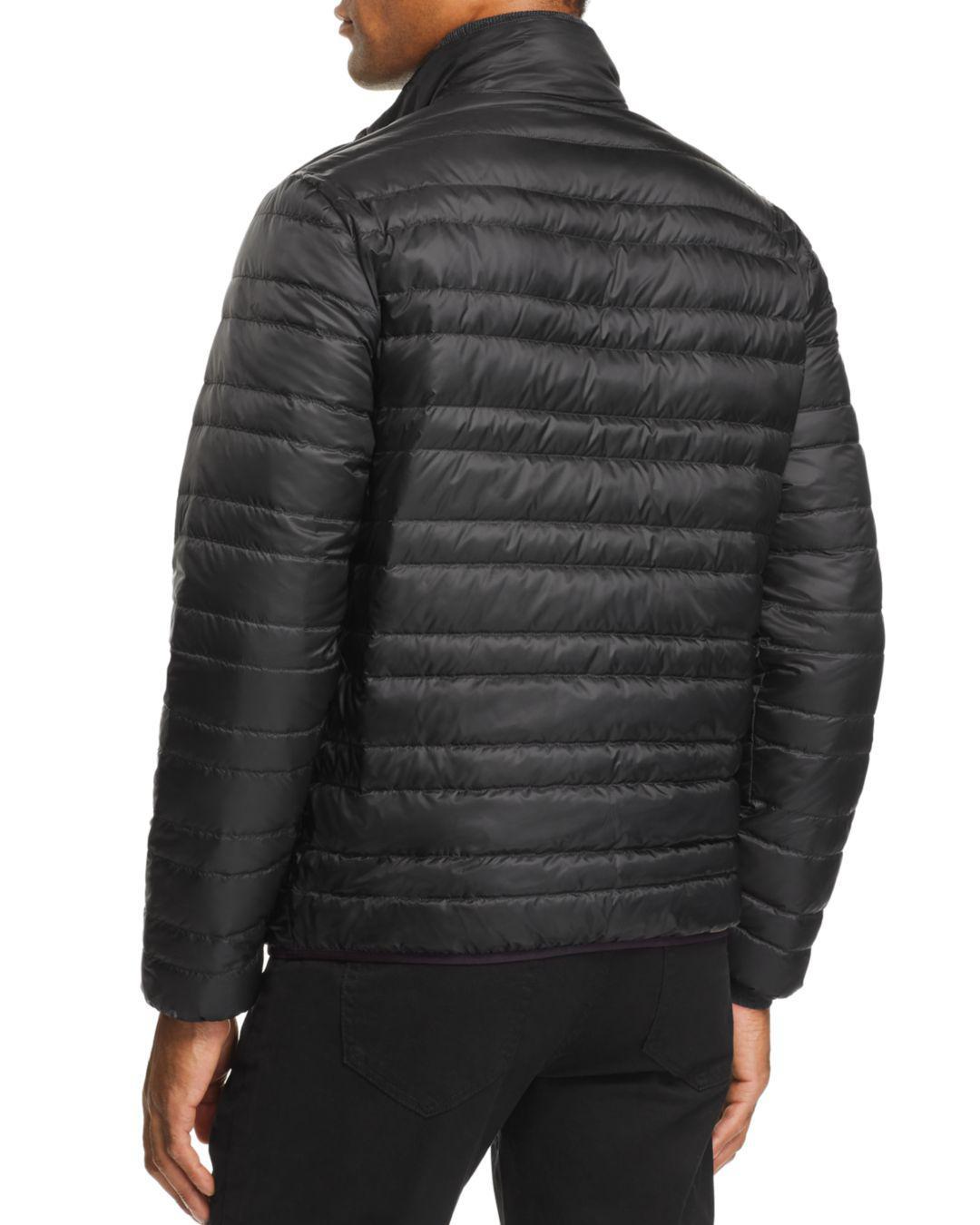 d231a749ec56 Michael Kors Reversible Down Jacket in Black for Men - Lyst