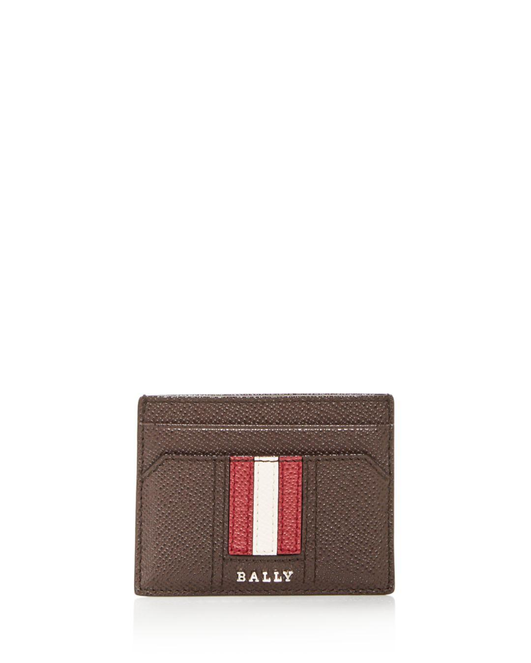 4139b8c368714 Bally - Brown Thar Leather Card Case for Men - Lyst. View fullscreen