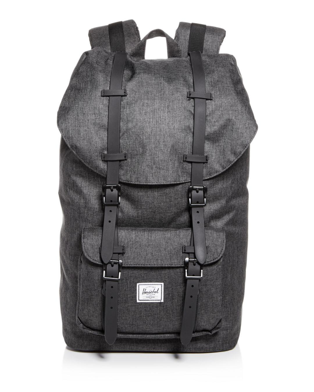 Lyst - Herschel Supply Co. Classic Little America Backpack in Black ... 8a418a92542