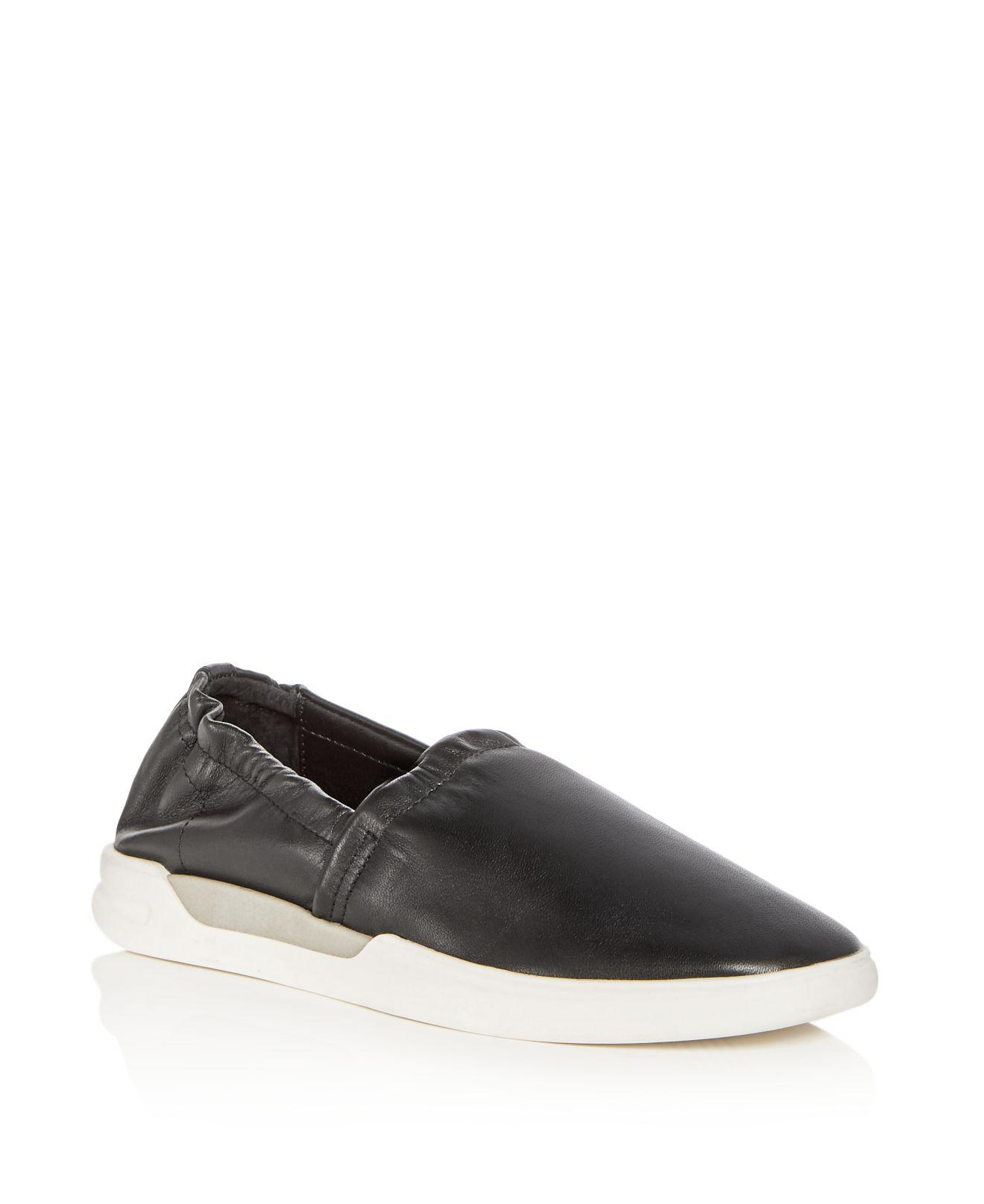 Donald Pliner Women's Gene Leather Slip-On Sneakers uX9miJtj