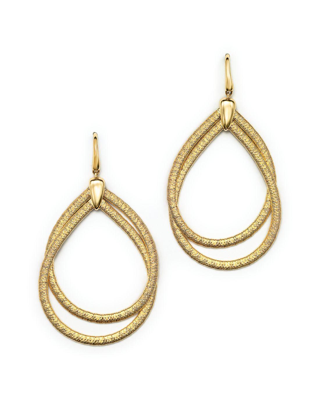 5e9bf30db Marco Bicego 18k Yellow Gold Cairo Drop Earrings in Metallic - Lyst