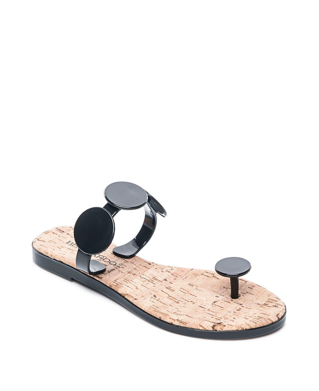 Bernardo Women's Jelly Disk & Cork Sandals 0uNW1qMQ