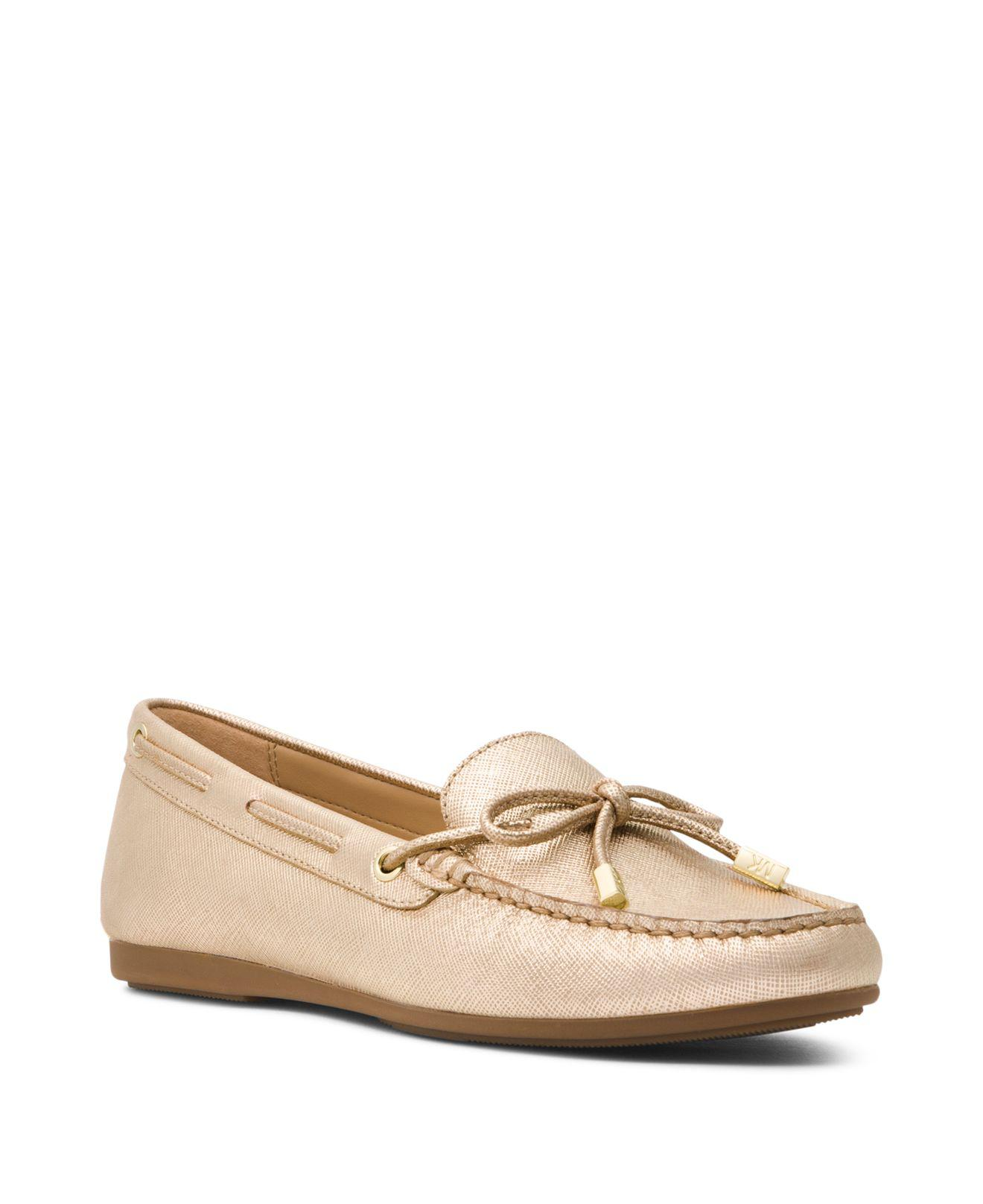 Michael Kors Women's Sutton Leather Moccasins ZpPTVi