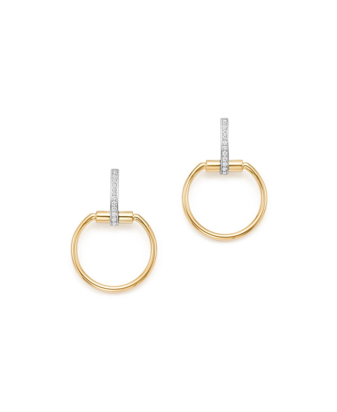 white gold pave yellow small bamboo diamond john hardy stud product round earrings