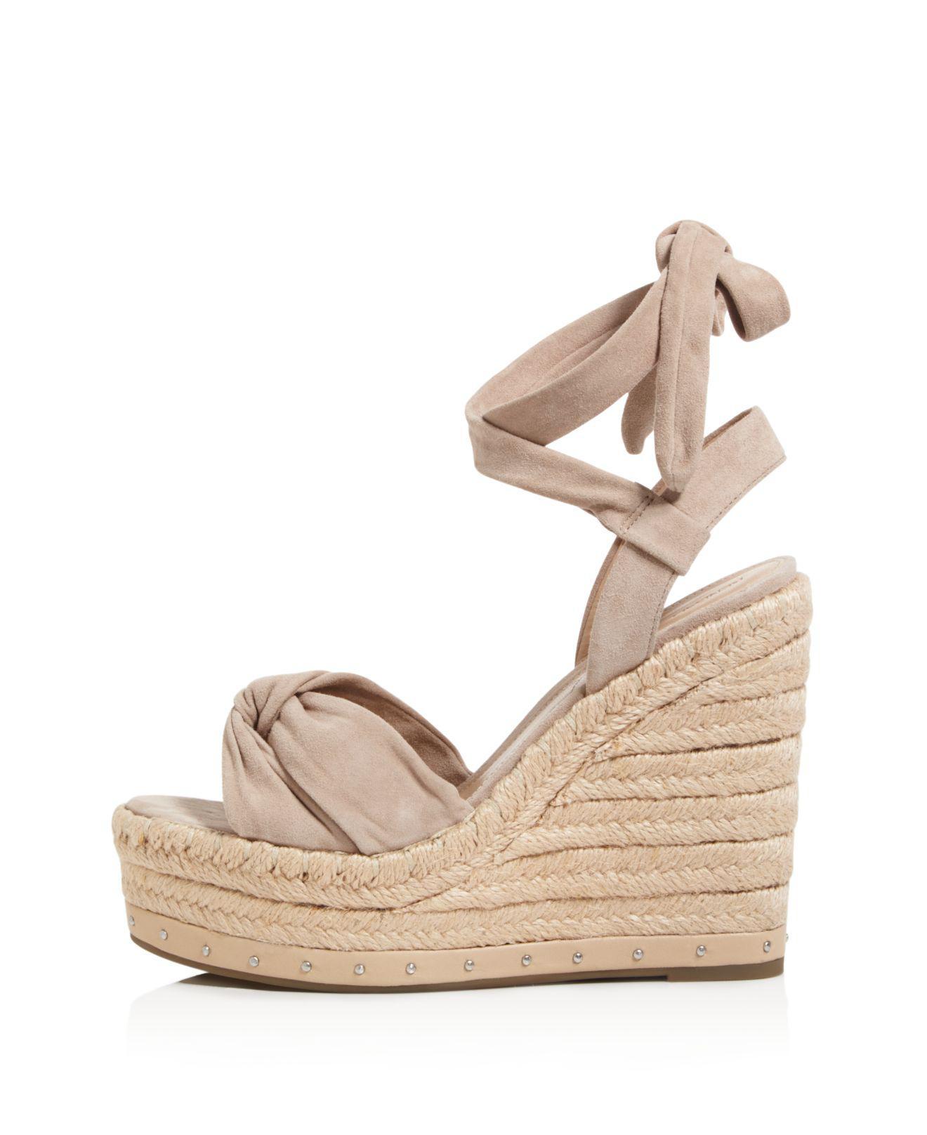 c19c296fc3d4 Lyst - Kendall + Kylie Grayce Espadrille Platform Wedge Sandals in ...
