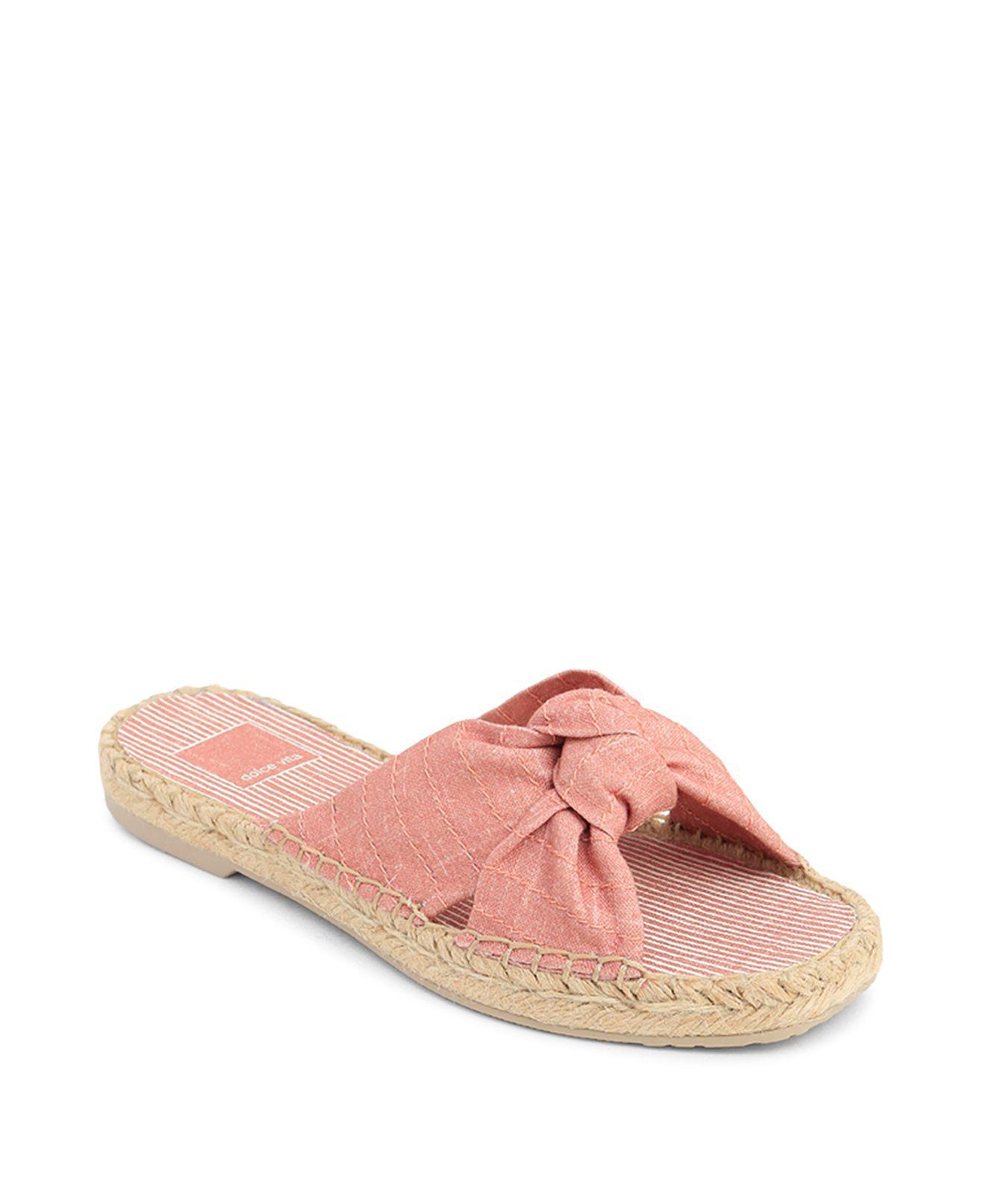 Dolce Vita Women's Single Knot Espadrille Slide Sandals GKXe51a5