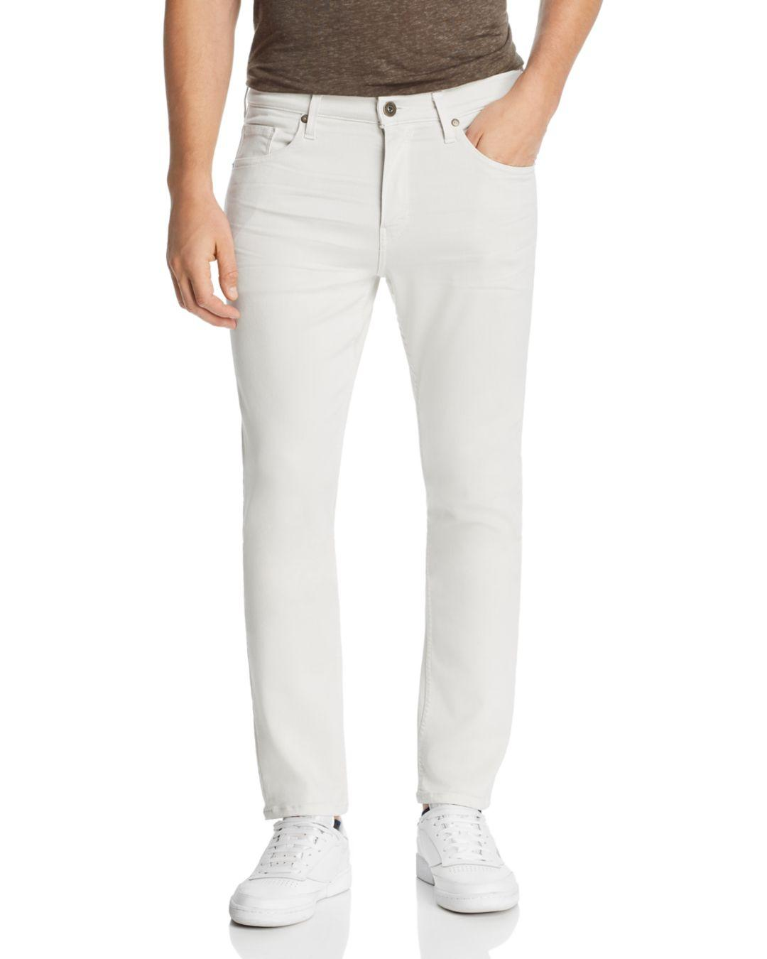 1a77f11c Lyst - PAIGE Lennox Slim Fit Jeans In Coconut Milk for Men