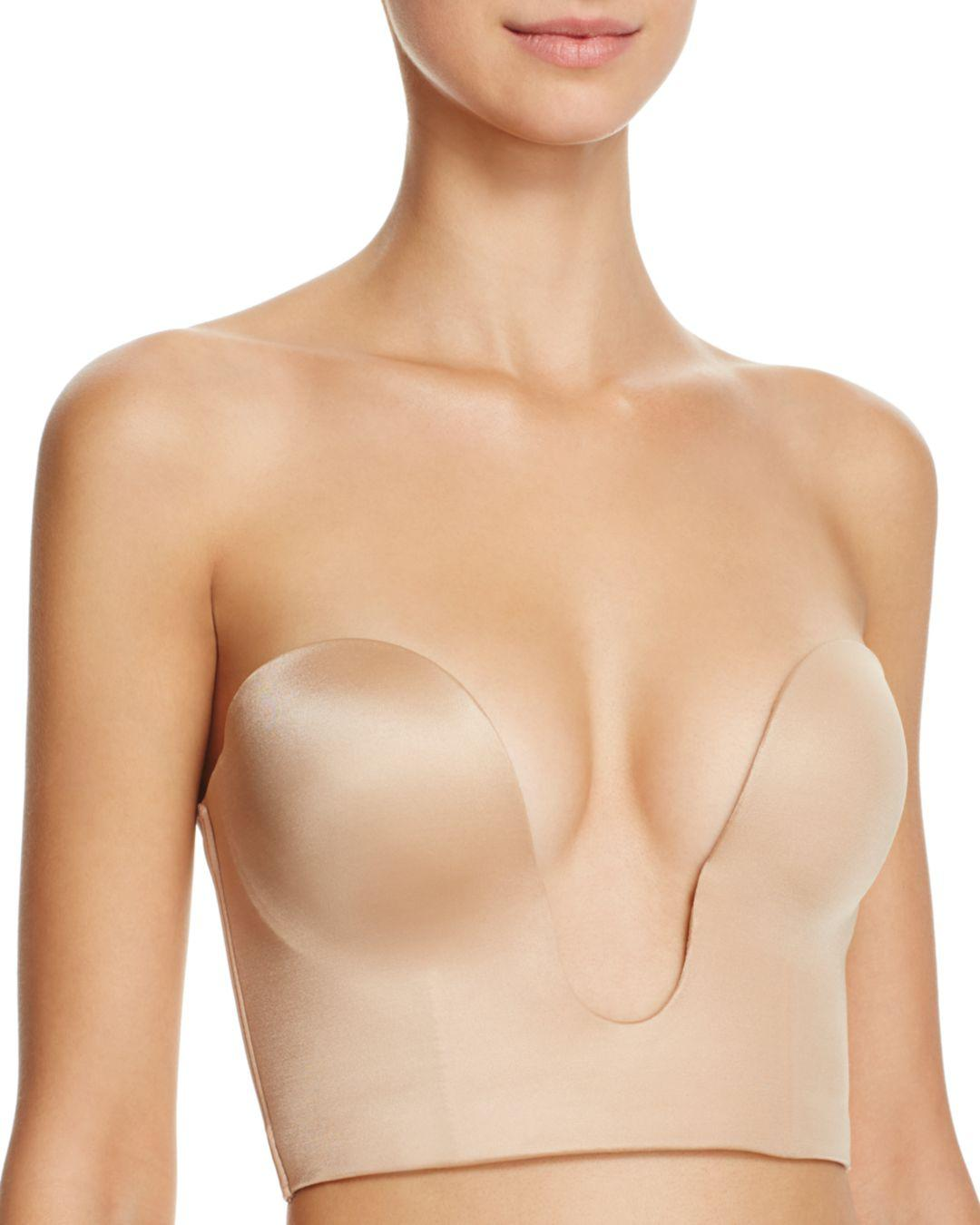 bbbcdf1bc1 Lyst - Fine Lines Plunge 4-way Convertible Shortline Bra in Natural