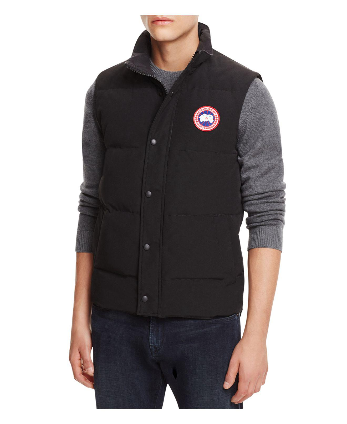 canada goose down vest