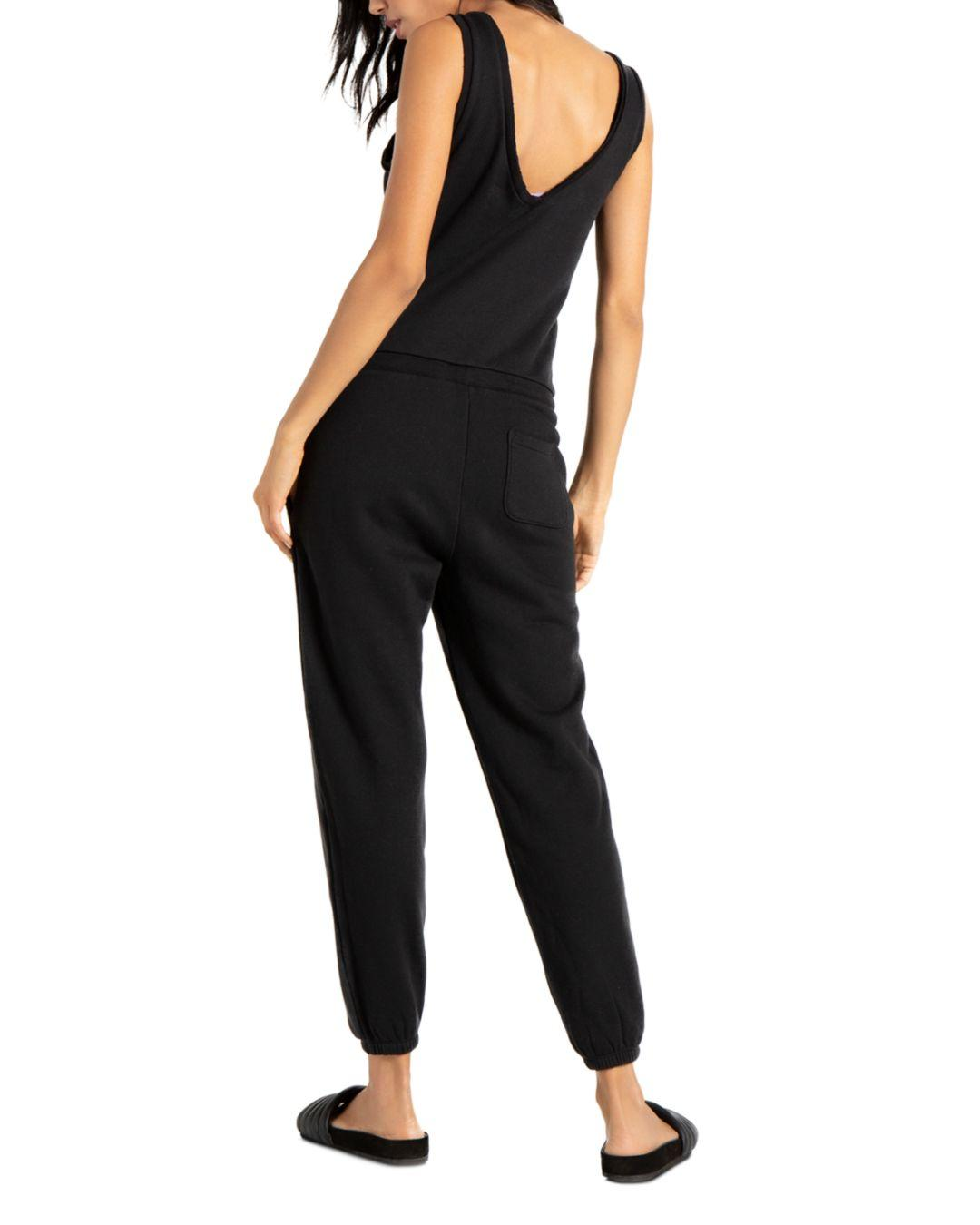 69d69900553e Lyst - n PHILANTHROPY N Philanthropy World Sleeveless Knit Jumpsuit in Black